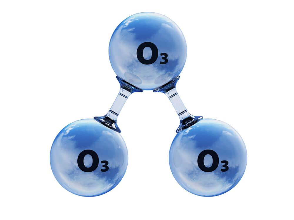 ozonun genel atom yapısı